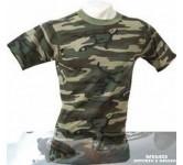 "T'shirt, Moto Mania, ""Camouflage"""