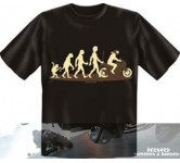 "T'shirt, ""Evolution"""