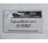 Tegoedbon, 75 EURO