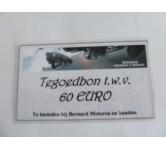 Tegoedbon, 60 EURO