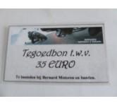 Tegoedbon, 35 EURO