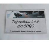 Tegoedbon, 150 EURO