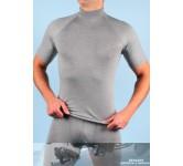 RJ heren thermoshirt grijs korte mouw.