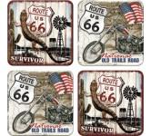 Onderzetters, Route 66