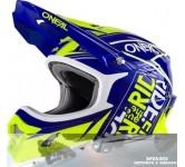 Helm O'Neal, 3 Series Fuel Blauw