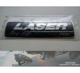 Exhaust emblem LASER Pro d'Or