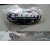 Exhaust emblem LASER Deeptone